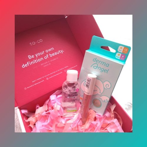 """<div class=""""photoCaption"""">Hai! Wanna get this  <a class=""""pink-url"""" target=""""_blank"""" href=""""http://m.clozette.co.id/search/query?term=SOCOBOX&siteseach=Submit"""">#SOCOBOX</a> ? Sign up at soco.id and contribute to the community (write a review/article or add video). Psst, don't forget to follow me, too 😉<br /> ..<br /> Good luck, beautiesss!<br /> <br />  <a class=""""pink-url"""" target=""""_blank"""" href=""""http://m.clozette.co.id/search/query?term=sociolla&siteseach=Submit"""">#sociolla</a>  <a class=""""pink-url"""" target=""""_blank"""" href=""""http://m.clozette.co.id/search/query?term=socobox&siteseach=Submit"""">#socobox</a>  <a class=""""pink-url"""" target=""""_blank"""" href=""""http://m.clozette.co.id/search/query?term=socoid&siteseach=Submit"""">#socoid</a>  <a class=""""pink-url"""" target=""""_blank"""" href=""""http://m.clozette.co.id/search/query?term=beautyjournal&siteseach=Submit"""">#beautyjournal</a>  <a class=""""pink-url"""" target=""""_blank"""" href=""""http://m.clozette.co.id/search/query?term=clozetteid&siteseach=Submit"""">#clozetteid</a>   <a class=""""pink-url"""" target=""""_blank"""" href=""""http://m.clozette.co.id/search/query?term=loopsquad2018&siteseach=Submit"""">#loopsquad2018</a>  <a class=""""pink-url"""" target=""""_blank"""" href=""""http://m.clozette.co.id/search/query?term=anputrireview&siteseach=Submit"""">#anputrireview</a>  <a class=""""pink-url"""" target=""""_blank"""" href=""""http://m.clozette.co.id/search/query?term=instadaily&siteseach=Submit"""">#instadaily</a>  <a class=""""pink-url"""" target=""""_blank"""" href=""""http://m.clozette.co.id/search/query?term=instatoday&siteseach=Submit"""">#instatoday</a>  <a class=""""pink-url"""" target=""""_blank"""" href=""""http://m.clozette.co.id/search/query?term=instalike&siteseach=Submit"""">#instalike</a>  <a class=""""pink-url"""" target=""""_blank"""" href=""""http://m.clozette.co.id/search/query?term=beauty&siteseach=Submit"""">#beauty</a>  <a class=""""pink-url"""" target=""""_blank"""" href=""""http://m.clozette.co.id/search/query?term=cchanel_id&siteseach=Submit"""">#cchanel_id</a>  <a class=""""pink-url"""" target=""""_blank"""" href=""""http://m.clozette.co.id/search/query?term=cchannelbeau"""