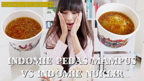 "<div class=""photoCaption"">TUKANG (n)JAJAN  <a class=""pink-url"" target=""_blank"" href=""http://m.clozette.co.id/search/query?term=4&siteseach=Submit"">#4</a> - Indomie Pedas Mampus Level 10 vs Indomie Nuklir - YouTube</div>"