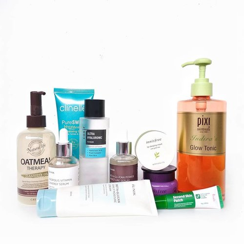 """<div class=""""photoCaption"""">Most of the time, I like to be extra to do my  <a class=""""pink-url"""" target=""""_blank"""" href=""""http://m.clozette.co.id/search/query?term=pmskincareroutine.&siteseach=Submit"""">#pmskincareroutine.</a> Especially when I have a hard time to sleep because my mind can't rest, I have a lot of ideas (related to my jobs, decorate the home, IG feed and more) but it's not easy to bring into reality... ...🌙  <a class=""""pink-url"""" target=""""_blank"""" href=""""http://m.clozette.co.id/search/query?term=calmia&siteseach=Submit"""">#calmia</a> Oatmeal Therapy Cleansing Oil🌙 @clinelled_id Pureswiss Hydracalm Cleansing Gel🌙 @pixibeauty Glow Tonic🌙  <a class=""""pink-url"""" target=""""_blank"""" href=""""http://m.clozette.co.id/search/query?term=prreti&siteseach=Submit"""">#prreti</a> Second Skin Patch🌙  <a class=""""pink-url"""" target=""""_blank"""" href=""""http://m.clozette.co.id/search/query?term=coxir&siteseach=Submit"""">#coxir</a> Ultra Hyaluronic Toner🌙  <a class=""""pink-url"""" target=""""_blank"""" href=""""http://m.clozette.co.id/search/query?term=iunik&siteseach=Submit"""">#iunik</a> Propolis Vitamin Energy Serum🌙 @iunik_official Beta Glucan Power Moisture Serum🌙 @innisfreeindonesia Jeju Orchid Eye Cream🌙 iUnik Beta Glucan Daily Moisture Cream🌙  <a class=""""pink-url"""" target=""""_blank"""" href=""""http://m.clozette.co.id/search/query?term=innisfree&siteseach=Submit"""">#innisfree</a> Lip Sleeping Mask with Green Tea-----✨✨✨✨✨✨✨ <a class=""""pink-url"""" target=""""_blank"""" href=""""http://m.clozette.co.id/search/query?term=indiraskincarediary&siteseach=Submit"""">#indiraskincarediary</a>  <a class=""""pink-url"""" target=""""_blank"""" href=""""http://m.clozette.co.id/search/query?term=clozetteid&siteseach=Submit"""">#clozetteid</a>  <a class=""""pink-url"""" target=""""_blank"""" href=""""http://m.clozette.co.id/search/query?term=discoverunder5k&siteseach=Submit"""">#discoverunder5k</a>  <a class=""""pink-url"""" target=""""_blank"""" href=""""http://m.clozette.co.id/search/query?term=beautybloggerindonesia&siteseach=Submit"""">#beautybloggerindonesia</a>  <a class=""""pink-url"""" target=""""_blank"""" href="""""""