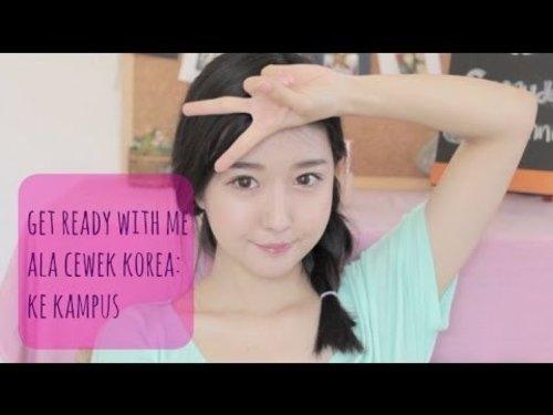 "<div class=""photoCaption"">Dandan Bareng Cewek Korea ke Kampus♡ (Indonesian) - YouTube</div>"