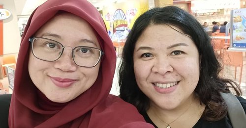"""<div class=""""photoCaption"""">Catching up session. Too many things to share, hahaha. 😂 Miss you already kakaknyaaah.. 😘.. <a class=""""pink-url"""" target=""""_blank"""" href=""""http://m.clozette.co.id/search/query?term=clozetteid&siteseach=Submit"""">#clozetteid</a>  <a class=""""pink-url"""" target=""""_blank"""" href=""""http://m.clozette.co.id/search/query?term=clozettedaily&siteseach=Submit"""">#clozettedaily</a>  <a class=""""pink-url"""" target=""""_blank"""" href=""""http://m.clozette.co.id/search/query?term=starclozetter&siteseach=Submit"""">#starclozetter</a>  <a class=""""pink-url"""" target=""""_blank"""" href=""""http://m.clozette.co.id/search/query?term=workingmom&siteseach=Submit"""">#workingmom</a>  <a class=""""pink-url"""" target=""""_blank"""" href=""""http://m.clozette.co.id/search/query?term=friendship&siteseach=Submit"""">#friendship</a>  <a class=""""pink-url"""" target=""""_blank"""" href=""""http://m.clozette.co.id/search/query?term=bestie&siteseach=Submit"""">#bestie</a>  <a class=""""pink-url"""" target=""""_blank"""" href=""""http://m.clozette.co.id/search/query?term=love&siteseach=Submit"""">#love</a>  <a class=""""pink-url"""" target=""""_blank"""" href=""""http://m.clozette.co.id/search/query?term=selfieexpert&siteseach=Submit"""">#selfieexpert</a>  <a class=""""pink-url"""" target=""""_blank"""" href=""""http://m.clozette.co.id/search/query?term=teamoppo&siteseach=Submit"""">#teamoppo</a>  <a class=""""pink-url"""" target=""""_blank"""" href=""""http://m.clozette.co.id/search/query?term=oppoF7&siteseach=Submit"""">#oppoF7</a></div>"""