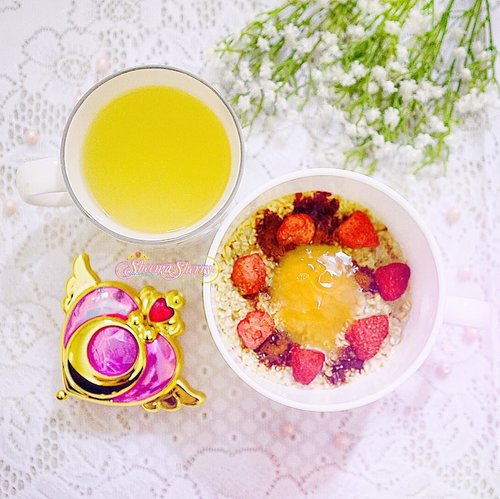 "<div class=""photoCaption"">Serenity: /sɪˈrɛnɪti/; noun: the state of being calm, peaceful, and untroubled. 🍋☕️🍓🥣🍯🍫🥛.おはようございます 🌞🌻</div>"