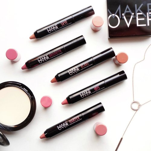 """<div class=""""photoCaption"""">Introducing the new @makeoverid Color Stick Matte Crayon 🖍 all the shades are so beautiful and we can easily mix them to create versatile lip mood ❤️ They have the perfect  <a class=""""pink-url"""" target=""""_blank"""" href=""""http://m.id.clozette.co/search/query?term=MLBB&siteseach=Submit"""">#MLBB</a> kind of shades option 😍 <a class=""""pink-url"""" target=""""_blank"""" href=""""http://m.id.clozette.co/search/query?term=TwistYourNude&siteseach=Submit"""">#TwistYourNude</a>  <a class=""""pink-url"""" target=""""_blank"""" href=""""http://m.id.clozette.co/search/query?term=MakeOverid.....&siteseach=Submit"""">#MakeOverid.....</a> <a class=""""pink-url"""" target=""""_blank"""" href=""""http://m.id.clozette.co/search/query?term=flatlay&siteseach=Submit"""">#flatlay</a>  <a class=""""pink-url"""" target=""""_blank"""" href=""""http://m.id.clozette.co/search/query?term=collabwithstevie&siteseach=Submit"""">#collabwithstevie</a>  <a class=""""pink-url"""" target=""""_blank"""" href=""""http://m.id.clozette.co/search/query?term=style&siteseach=Submit"""">#style</a>  <a class=""""pink-url"""" target=""""_blank"""" href=""""http://m.id.clozette.co/search/query?term=makeup&siteseach=Submit"""">#makeup</a>  <a class=""""pink-url"""" target=""""_blank"""" href=""""http://m.id.clozette.co/search/query?term=lipstick&siteseach=Submit"""">#lipstick</a>  <a class=""""pink-url"""" target=""""_blank"""" href=""""http://m.id.clozette.co/search/query?term=exploretocreate&siteseach=Submit"""">#exploretocreate</a> tampilcantik  <a class=""""pink-url"""" target=""""_blank"""" href=""""http://m.id.clozette.co/search/query?term=clozetteid&siteseach=Submit"""">#clozetteid</a></div>"""