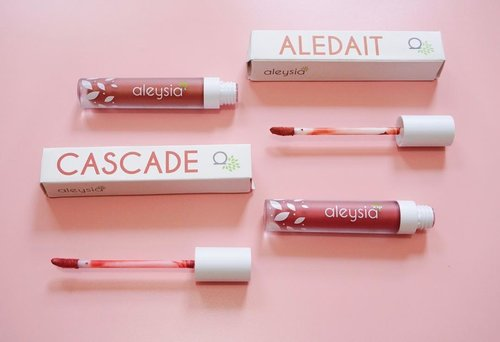 """<div class=""""photoCaption"""">Try'in another local brand lip cream matte from @aleysiabeauty 😍I got 2 shades from 5 and u can check the swatces by swipe left 👉🏻👉🏻2 shades what i've got : 1. Aledait (02)2. Cascade (03)Compare from others lip matte, this lip matte has a mint flavor. And the colour turns out so well, u must try this !! Full review on my blog(Just click link on my bio) <a class=""""pink-url"""" target=""""_blank"""" href=""""http://m.clozette.co.id/search/query?term=aleysia&siteseach=Submit"""">#aleysia</a>  <a class=""""pink-url"""" target=""""_blank"""" href=""""http://m.clozette.co.id/search/query?term=aleysiabeauty&siteseach=Submit"""">#aleysiabeauty</a>  <a class=""""pink-url"""" target=""""_blank"""" href=""""http://m.clozette.co.id/search/query?term=lipcreammatte&siteseach=Submit"""">#lipcreammatte</a>  <a class=""""pink-url"""" target=""""_blank"""" href=""""http://m.clozette.co.id/search/query?term=lipmatte&siteseach=Submit"""">#lipmatte</a>  <a class=""""pink-url"""" target=""""_blank"""" href=""""http://m.clozette.co.id/search/query?term=beauty&siteseach=Submit"""">#beauty</a>  <a class=""""pink-url"""" target=""""_blank"""" href=""""http://m.clozette.co.id/search/query?term=styleofbeauty&siteseach=Submit"""">#styleofbeauty</a>  <a class=""""pink-url"""" target=""""_blank"""" href=""""http://m.clozette.co.id/search/query?term=indobeautygram&siteseach=Submit"""">#indobeautygram</a>  <a class=""""pink-url"""" target=""""_blank"""" href=""""http://m.clozette.co.id/search/query?term=tampilcantik&siteseach=Submit"""">#tampilcantik</a>  <a class=""""pink-url"""" target=""""_blank"""" href=""""http://m.clozette.co.id/search/query?term=sweetmakeup&siteseach=Submit"""">#sweetmakeup</a>  <a class=""""pink-url"""" target=""""_blank"""" href=""""http://m.clozette.co.id/search/query?term=lookbook&siteseach=Submit"""">#lookbook</a>  <a class=""""pink-url"""" target=""""_blank"""" href=""""http://m.clozette.co.id/search/query?term=beautybloggerindonesia&siteseach=Submit"""">#beautybloggerindonesia</a>  <a class=""""pink-url"""" target=""""_blank"""" href=""""http://m.clozette.co.id/search/query?term=indobeautysquad&siteseach=Submit"""">#indobeautysquad</a>  <a class=""""pink-"""