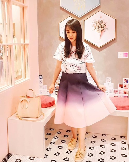 """<div class=""""photoCaption"""">So in love with this skirt again and again from @unyuboutique .<br /> .<br /> <br /> Check out myculinarydiary.com for more awesome post<br />  <a class=""""pink-url"""" target=""""_blank"""" href=""""http://m.clozette.co.id/search/query?term=sisytravelingdiary&siteseach=Submit"""">#sisytravelingdiary</a>  <a class=""""pink-url"""" target=""""_blank"""" href=""""http://m.clozette.co.id/search/query?term=travel&siteseach=Submit"""">#travel</a>  <a class=""""pink-url"""" target=""""_blank"""" href=""""http://m.clozette.co.id/search/query?term=ombreskirt&siteseach=Submit"""">#ombreskirt</a>  <a class=""""pink-url"""" target=""""_blank"""" href=""""http://m.clozette.co.id/search/query?term=ombre&siteseach=Submit"""">#ombre</a><br /> .<br /> .<br /> .<br /> .<br /> .<br /> .<br /> .<br />  <a class=""""pink-url"""" target=""""_blank"""" href=""""http://m.clozette.co.id/search/query?term=ootd&siteseach=Submit"""">#ootd</a>  <a class=""""pink-url"""" target=""""_blank"""" href=""""http://m.clozette.co.id/search/query?term=photooftheday&siteseach=Submit"""">#photooftheday</a>  <a class=""""pink-url"""" target=""""_blank"""" href=""""http://m.clozette.co.id/search/query?term=beautifuldestinations&siteseach=Submit"""">#beautifuldestinations</a>  <a class=""""pink-url"""" target=""""_blank"""" href=""""http://m.clozette.co.id/search/query?term=tbt&siteseach=Submit"""">#tbt</a>  <a class=""""pink-url"""" target=""""_blank"""" href=""""http://m.clozette.co.id/search/query?term=lookbook&siteseach=Submit"""">#lookbook</a>  <a class=""""pink-url"""" target=""""_blank"""" href=""""http://m.clozette.co.id/search/query?term=lotd&siteseach=Submit"""">#lotd</a>  <a class=""""pink-url"""" target=""""_blank"""" href=""""http://m.clozette.co.id/search/query?term=wiwt&siteseach=Submit"""">#wiwt</a>  <a class=""""pink-url"""" target=""""_blank"""" href=""""http://m.clozette.co.id/search/query?term=japan&siteseach=Submit"""">#japan</a>  <a class=""""pink-url"""" target=""""_blank"""" href=""""http://m.clozette.co.id/search/query?term=barbie&siteseach=Submit"""">#barbie</a>  <a class=""""pink-url"""" target=""""_blank"""" href=""""http://m.clozette.co.id/search/query?term=fashionblogger&siteseach=Submit"""">#fashio"""