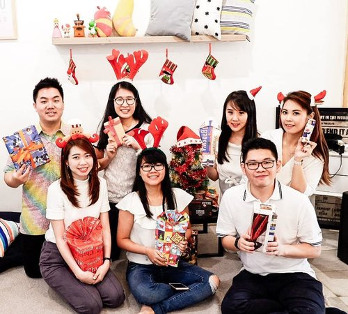 """<div class=""""photoCaption"""">[Swipe for thr video]CHRISTMAS PARTY WITH HURA HURA SQUAD Boar gaming, laughing, and singing from morning till night!.Check out myculinarydiary.com for more awesome post <a class=""""pink-url"""" target=""""_blank"""" href=""""http://m.clozette.co.id/search/query?term=christmas&siteseach=Submit"""">#christmas</a>  <a class=""""pink-url"""" target=""""_blank"""" href=""""http://m.clozette.co.id/search/query?term=christmasparty&siteseach=Submit"""">#christmasparty</a>  <a class=""""pink-url"""" target=""""_blank"""" href=""""http://m.clozette.co.id/search/query?term=friends&siteseach=Submit"""">#friends</a> ....... <a class=""""pink-url"""" target=""""_blank"""" href=""""http://m.clozette.co.id/search/query?term=ootd&siteseach=Submit"""">#ootd</a>  <a class=""""pink-url"""" target=""""_blank"""" href=""""http://m.clozette.co.id/search/query?term=photooftheday&siteseach=Submit"""">#photooftheday</a>  <a class=""""pink-url"""" target=""""_blank"""" href=""""http://m.clozette.co.id/search/query?term=beautifuldestinations&siteseach=Submit"""">#beautifuldestinations</a>  <a class=""""pink-url"""" target=""""_blank"""" href=""""http://m.clozette.co.id/search/query?term=coffeeshop&siteseach=Submit"""">#coffeeshop</a>  <a class=""""pink-url"""" target=""""_blank"""" href=""""http://m.clozette.co.id/search/query?term=wiwt&siteseach=Submit"""">#wiwt</a>  <a class=""""pink-url"""" target=""""_blank"""" href=""""http://m.clozette.co.id/search/query?term=japanese&siteseach=Submit"""">#japanese</a>  <a class=""""pink-url"""" target=""""_blank"""" href=""""http://m.clozette.co.id/search/query?term=prettylittlecorner&siteseach=Submit"""">#prettylittlecorner</a>  <a class=""""pink-url"""" target=""""_blank"""" href=""""http://m.clozette.co.id/search/query?term=outfitoftheday&siteseach=Submit"""">#outfitoftheday</a>  <a class=""""pink-url"""" target=""""_blank"""" href=""""http://m.clozette.co.id/search/query?term=korean&siteseach=Submit"""">#korean</a>   <a class=""""pink-url"""" target=""""_blank"""" href=""""http://m.clozette.co.id/search/query?term=followme&siteseach=Submit"""">#followme</a>  <a class=""""pink-url"""" target=""""_blank"""" href=""""http://m.clozette.co.id/search/query?term=minimalist"""