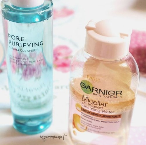 """<div class=""""photoCaption"""">Please don't be surprised by this latest Althea product. It has an oddball and quite confusing name, Althea Pore Purifying Serum Cleanser. But I consider it nothing more than first cleanser. .<br /> .<br /> 🌵 @skincaresya once said she interested in this product,  which I agree upon as this is actually quite interesting. Have you ever felt the texture of thick water but when it was held it turned out  oily? That's how unique it is<br /> .<br /> .<br /> 🌵 As a first cleanser, you could cleanse with soft cotton, I bought one from Watson.  The sensation after applying it makes you questioning yourself: Is this a cleansing oil? Or has the similar  form of oil infused cleansing water like Garnier? You can find the answer by reading my review on the link bio (using Bahasa)!  <a class=""""pink-url"""" target=""""_blank"""" href=""""http://m.clozette.co.id/search/query?term=insommiareview&siteseach=Submit"""">#insommiareview</a>  <a class=""""pink-url"""" target=""""_blank"""" href=""""http://m.clozette.co.id/search/query?term=altheakorea&siteseach=Submit"""">#altheakorea</a>  <a class=""""pink-url"""" target=""""_blank"""" href=""""http://m.clozette.co.id/search/query?term=idskincarecommunity&siteseach=Submit"""">#idskincarecommunity</a>  <a class=""""pink-url"""" target=""""_blank"""" href=""""http://m.clozette.co.id/search/query?term=beautygoersid&siteseach=Submit"""">#beautygoersid</a>  <a class=""""pink-url"""" target=""""_blank"""" href=""""http://m.clozette.co.id/search/query?term=clozetteid&siteseach=Submit"""">#clozetteid</a>  <a class=""""pink-url"""" target=""""_blank"""" href=""""http://m.clozette.co.id/search/query?term=skincarecommunity&siteseach=Submit"""">#skincarecommunity</a><br />   <a class=""""pink-url"""" target=""""_blank"""" href=""""http://m.clozette.co.id/search/query?term=beautycommunity&siteseach=Submit"""">#beautycommunity</a>  <a class=""""pink-url"""" target=""""_blank"""" href=""""http://m.clozette.co.id/search/query?term=talkthatmakeup&siteseach=Submit"""">#talkthatmakeup</a>  <a class=""""pink-url"""" target=""""_blank"""" href=""""http://m.clozette.co.id/search/query?te"""