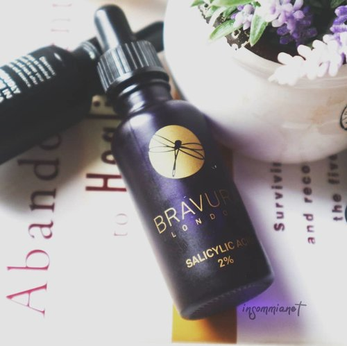 """<div class=""""photoCaption"""">3 facts about BHA: ..❣️ The only beta hydroxy acid is salicylic acid. As for Betaine salicylate (you could find in @cosrx One Step Pimple Pad, is another alternative but can work effectively without causing irritation).❣️ Willow bark water has salicin in it, which is the presence of enzymes converts into salicylic acid. But it doesn't turn into the amount of SA needed by our skin. Willow bark extract or water is good for antiinflamatory and soothing skin.❣️ Salicylic acid effectively prevents acne. It also can get rid of acne scars..You could also read more about BHA and  @bravuralondon SA 2% in my link bio  <a class=""""pink-url"""" target=""""_blank"""" href=""""http://m.clozette.co.id/search/query?term=bravuralondon&siteseach=Submit"""">#bravuralondon</a>  <a class=""""pink-url"""" target=""""_blank"""" href=""""http://m.clozette.co.id/search/query?term=insommiacnestory&siteseach=Submit"""">#insommiacnestory</a>  <a class=""""pink-url"""" target=""""_blank"""" href=""""http://m.clozette.co.id/search/query?term=bekasjerawat&siteseach=Submit"""">#bekasjerawat</a>  <a class=""""pink-url"""" target=""""_blank"""" href=""""http://m.clozette.co.id/search/query?term=crueltyfreebeauty&siteseach=Submit"""">#crueltyfreebeauty</a>   <a class=""""pink-url"""" target=""""_blank"""" href=""""http://m.clozette.co.id/search/query?term=skincareroutine&siteseach=Submit"""">#skincareroutine</a>  <a class=""""pink-url"""" target=""""_blank"""" href=""""http://m.clozette.co.id/search/query?term=insommiareview&siteseach=Submit"""">#insommiareview</a>  <a class=""""pink-url"""" target=""""_blank"""" href=""""http://m.clozette.co.id/search/query?term=naturalskincare&siteseach=Submit"""">#naturalskincare</a>  <a class=""""pink-url"""" target=""""_blank"""" href=""""http://m.clozette.co.id/search/query?term=skincarejunkie&siteseach=Submit"""">#skincarejunkie</a>  <a class=""""pink-url"""" target=""""_blank"""" href=""""http://m.clozette.co.id/search/query?term=flatlaytoday&siteseach=Submit"""">#flatlaytoday</a>  <a class=""""pink-url"""" target=""""_blank"""" href=""""http://m.clozette.co.id/search/query?term=igbeautyblogger&siteseach=S"""