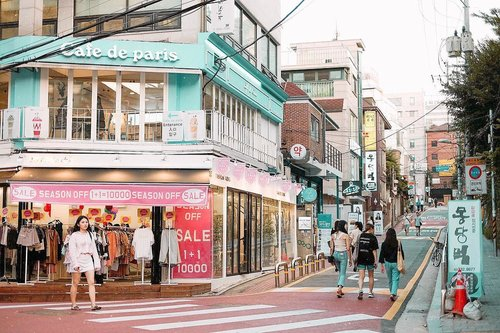 """<div class=""""photoCaption"""">Gonna come back, but not in summer! 🤣🤣 Hongdae is one of the must-visit area in Seoul 👏🏻 Read more about things to do in Seoul on my blog  <a class=""""pink-url"""" target=""""_blank"""" href=""""http://m.clozette.co.id/search/query?term=bigdreamerblog&siteseach=Submit"""">#bigdreamerblog</a>  <a class=""""pink-url"""" target=""""_blank"""" href=""""http://m.clozette.co.id/search/query?term=BigDreamerInKorea&siteseach=Submit"""">#BigDreamerInKorea</a><br /> .<br /> .<br /> .<br />  <a class=""""pink-url"""" target=""""_blank"""" href=""""http://m.clozette.co.id/search/query?term=clozetteid&siteseach=Submit"""">#clozetteid</a>  <a class=""""pink-url"""" target=""""_blank"""" href=""""http://m.clozette.co.id/search/query?term=exploreseoul&siteseach=Submit"""">#exploreseoul</a>  <a class=""""pink-url"""" target=""""_blank"""" href=""""http://m.clozette.co.id/search/query?term=hongdae&siteseach=Submit"""">#hongdae</a>  <a class=""""pink-url"""" target=""""_blank"""" href=""""http://m.clozette.co.id/search/query?term=ktoid&siteseach=Submit"""">#ktoid</a>  <a class=""""pink-url"""" target=""""_blank"""" href=""""http://m.clozette.co.id/search/query?term=travelblogger&siteseach=Submit"""">#travelblogger</a>  <a class=""""pink-url"""" target=""""_blank"""" href=""""http://m.clozette.co.id/search/query?term=travelerindonesia&siteseach=Submit"""">#travelerindonesia</a>  <a class=""""pink-url"""" target=""""_blank"""" href=""""http://m.clozette.co.id/search/query?term=travelbloggerindonesia&siteseach=Submit"""">#travelbloggerindonesia</a>  <a class=""""pink-url"""" target=""""_blank"""" href=""""http://m.clozette.co.id/search/query?term=hongik&siteseach=Submit"""">#hongik</a>  <a class=""""pink-url"""" target=""""_blank"""" href=""""http://m.clozette.co.id/search/query?term=cafedeparis&siteseach=Submit"""">#cafedeparis</a>  <a class=""""pink-url"""" target=""""_blank"""" href=""""http://m.clozette.co.id/search/query?term=koreatravel&siteseach=Submit"""">#koreatravel</a>  #홍대  #여행  #여행에미치다  #旅行  #旅行大好き</div>"""