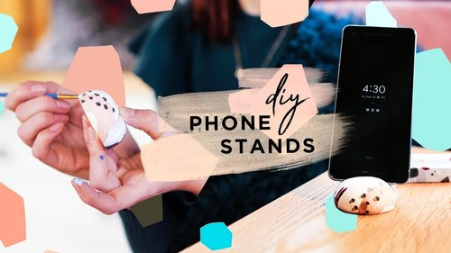 "<div class=""photoCaption"">Gift Idea: 3 Step DIY Phone Stand - YouTube</div>"
