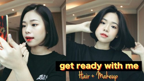 """<div class=""""photoCaption"""">Chill Get Ready With Me 