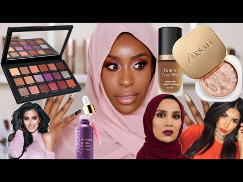 "<div class=""photoCaption"">Full Face of Muslim Owned/Halal Beauty Products Tutorial! 
