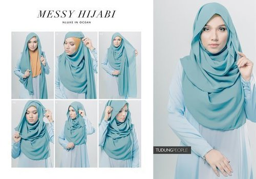 "<div class=""photoCaption"">MESSY HIJABI Hijab Tutorial Featuring TudungPeople Numa Luxe 2.0 Hijab in Ocean</div>"