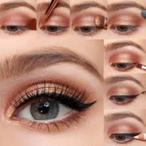 "<div class=""photoCaption"">Neutral eye makeup tutorial</div>"