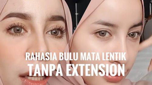 "<div class=""photoCaption"">Tutorial Eps.5: RAHASIA EYELASH LENTIK TANPA EXTENSION - YouTube</div>"