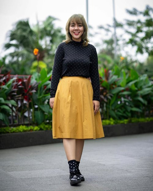 """<div class=""""photoCaption"""">Finally back:  <a class=""""pink-url"""" target=""""_blank"""" href=""""http://m.id.clozette.co/search/query?term=ootd&siteseach=Submit"""">#ootd</a> with my fave pattern and color: polkadot + yellow! 📷 by: @clickheartphotography ❤️ the result!<br /> <br />  <a class=""""pink-url"""" target=""""_blank"""" href=""""http://m.id.clozette.co/search/query?term=ootdinspo&siteseach=Submit"""">#ootdinspo</a>  <a class=""""pink-url"""" target=""""_blank"""" href=""""http://m.id.clozette.co/search/query?term=clozetteid&siteseach=Submit"""">#clozetteid</a>  <a class=""""pink-url"""" target=""""_blank"""" href=""""http://m.id.clozette.co/search/query?term=polkadots&siteseach=Submit"""">#polkadots</a>  <a class=""""pink-url"""" target=""""_blank"""" href=""""http://m.id.clozette.co/search/query?term=ootdindonesia&siteseach=Submit"""">#ootdindonesia</a>  <a class=""""pink-url"""" target=""""_blank"""" href=""""http://m.id.clozette.co/search/query?term=bloggerstyle&siteseach=Submit"""">#bloggerstyle</a>  <a class=""""pink-url"""" target=""""_blank"""" href=""""http://m.id.clozette.co/search/query?term=awkwardpose&siteseach=Submit"""">#awkwardpose</a></div>"""