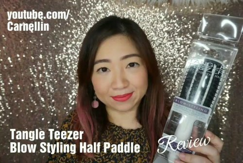 "<div class=""photoCaption"">The brutal honest review of @tangleteezer Half Paddle Brush for short or medium hair.<br /> <br /> Watch the full review here:<br /> <a href=""https://youtu.be/H13o0kFU8NY"" class=""pink-url""  target=""_blank""  rel=""nofollow"" title=""https://youtu.be/H13o0kFU8NY"">https://youtu.be/H13o0kFU8NY</a><br /> <br />  <a class=""pink-url"" target=""_blank"" href=""http://m.clozette.co.id/search/query?term=tangleteezer&siteseach=Submit"">#tangleteezer</a>  <a class=""pink-url"" target=""_blank"" href=""http://m.clozette.co.id/search/query?term=brush&siteseach=Submit"">#brush</a>  <a class=""pink-url"" target=""_blank"" href=""http://m.clozette.co.id/search/query?term=worst&siteseach=Submit"">#worst</a>  <a class=""pink-url"" target=""_blank"" href=""http://m.clozette.co.id/search/query?term=worstbrush&siteseach=Submit"">#worstbrush</a>  <a class=""pink-url"" target=""_blank"" href=""http://m.clozette.co.id/search/query?term=notrecommended&siteseach=Submit"">#notrecommended</a>  <a class=""pink-url"" target=""_blank"" href=""http://m.clozette.co.id/search/query?term=honestreview&siteseach=Submit"">#honestreview</a>  <a class=""pink-url"" target=""_blank"" href=""http://m.clozette.co.id/search/query?term=ClozetteID&siteseach=Submit"">#ClozetteID</a>  <a class=""pink-url"" target=""_blank"" href=""http://m.clozette.co.id/search/query?term=beautyvloggerindonesia&siteseach=Submit"">#beautyvloggerindonesia</a>  <a class=""pink-url"" target=""_blank"" href=""http://m.clozette.co.id/search/query?term=vlogger&siteseach=Submit"">#vlogger</a>  <a class=""pink-url"" target=""_blank"" href=""http://m.clozette.co.id/search/query?term=dontbuythis&siteseach=Submit"">#dontbuythis</a>  <a class=""pink-url"" target=""_blank"" href=""http://m.clozette.co.id/search/query?term=hello&siteseach=Submit"">#hello</a>  <a class=""pink-url"" target=""_blank"" href=""http://m.clozette.co.id/search/query?term=youtube&siteseach=Submit"">#youtube</a>  <a class=""pink-url"" target=""_blank"" href=""http://m.clozette.co.id/search/query?term=hairstyle&siteseach=Submit"">#hairstyle</a>  <a class=""pink-url"" target=""_blank"" href=""http://m.clozette.co.id/search/query?term=youtuber&siteseach=Submit"">#youtuber</a>  <a class=""pink-url"" target=""_blank"" href=""http://m.clozette.co.id/search/query?term=review&siteseach=Submit"">#review</a>  <a class=""pink-url"" target=""_blank"" href=""http://m.clozette.co.id/search/query?term=yikes&siteseach=Submit"">#yikes</a></div>"