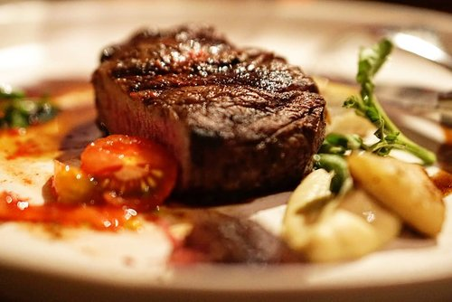 """<div class=""""photoCaption"""">Beef Tenderloin. <br /> _________<br /> <br /> Smoke artichoke puree, watercress, and red wine jus. <br /> _________<br />  <a class=""""pink-url"""" target=""""_blank"""" href=""""http://m.clozette.co.id/search/query?term=steak&siteseach=Submit"""">#steak</a>  <a class=""""pink-url"""" target=""""_blank"""" href=""""http://m.clozette.co.id/search/query?term=delicious&siteseach=Submit"""">#delicious</a>  <a class=""""pink-url"""" target=""""_blank"""" href=""""http://m.clozette.co.id/search/query?term=foodies&siteseach=Submit"""">#foodies</a>  <a class=""""pink-url"""" target=""""_blank"""" href=""""http://m.clozette.co.id/search/query?term=clozetteID&siteseach=Submit"""">#clozetteID</a>  <a class=""""pink-url"""" target=""""_blank"""" href=""""http://m.clozette.co.id/search/query?term=yums&siteseach=Submit"""">#yums</a>  <a class=""""pink-url"""" target=""""_blank"""" href=""""http://m.clozette.co.id/search/query?term=hotel&siteseach=Submit"""">#hotel</a>  <a class=""""pink-url"""" target=""""_blank"""" href=""""http://m.clozette.co.id/search/query?term=lyon&siteseach=Submit"""">#lyon</a>  <a class=""""pink-url"""" target=""""_blank"""" href=""""http://m.clozette.co.id/search/query?term=mandarinorientaljakarta&siteseach=Submit"""">#mandarinorientaljakarta</a>  <a class=""""pink-url"""" target=""""_blank"""" href=""""http://m.clozette.co.id/search/query?term=delicious&siteseach=Submit"""">#delicious</a>  <a class=""""pink-url"""" target=""""_blank"""" href=""""http://m.clozette.co.id/search/query?term=lyonrestaurant&siteseach=Submit"""">#lyonrestaurant</a>  <a class=""""pink-url"""" target=""""_blank"""" href=""""http://m.clozette.co.id/search/query?term=mandarinoriental&siteseach=Submit"""">#mandarinoriental</a>  <a class=""""pink-url"""" target=""""_blank"""" href=""""http://m.clozette.co.id/search/query?term=dinner&siteseach=Submit"""">#dinner</a>  <a class=""""pink-url"""" target=""""_blank"""" href=""""http://m.clozette.co.id/search/query?term=reunion&siteseach=Submit"""">#reunion</a>  <a class=""""pink-url"""" target=""""_blank"""" href=""""http://m.clozette.co.id/search/query?term=foodoftheday&siteseach=Submit"""">#foodoftheday</a>  #@mo_jakarta  <a class=""""pink-url"""" target=""""_blank"""