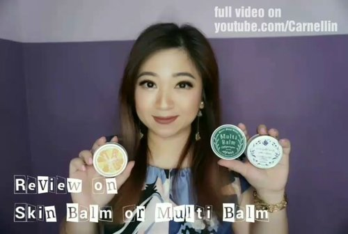 """<div class=""""photoCaption"""">Beauty Balm, Skin Balm, or Multi Balm review. An all in one product perfect for traveling or life on the go.<br /> <br /> Handy, compact and providing moisture to many part of the body... and hair. <br /> Full video here:<br /> <a href=""""https://youtu.be/JU8F-GQfEO4"""" class=""""pink-url""""  target=""""_blank""""  rel=""""nofollow"""" title=""""https://youtu.be/JU8F-GQfEO4"""">https://youtu.be/JU8F-GQfEO4</a><br /> <br />  <a class=""""pink-url"""" target=""""_blank"""" href=""""http://m.clozette.co.id/search/query?term=beautybalm&siteseach=Submit"""">#beautybalm</a>  <a class=""""pink-url"""" target=""""_blank"""" href=""""http://m.clozette.co.id/search/query?term=skinbalm&siteseach=Submit"""">#skinbalm</a>  <a class=""""pink-url"""" target=""""_blank"""" href=""""http://m.clozette.co.id/search/query?term=multibalm&siteseach=Submit"""">#multibalm</a>  <a class=""""pink-url"""" target=""""_blank"""" href=""""http://m.clozette.co.id/search/query?term=balm&siteseach=Submit"""">#balm</a>  <a class=""""pink-url"""" target=""""_blank"""" href=""""http://m.clozette.co.id/search/query?term=hokkaidookhotsk&siteseach=Submit"""">#hokkaidookhotsk</a>  <a class=""""pink-url"""" target=""""_blank"""" href=""""http://m.clozette.co.id/search/query?term=okhotsk&siteseach=Submit"""">#okhotsk</a>  # <a class=""""pink-url"""" target=""""_blank"""" href=""""http://m.clozette.co.id/search/query?term=alivivi&siteseach=Submit"""">#alivivi</a>  <a class=""""pink-url"""" target=""""_blank"""" href=""""http://m.clozette.co.id/search/query?term=Japan&siteseach=Submit"""">#Japan</a>  <a class=""""pink-url"""" target=""""_blank"""" href=""""http://m.clozette.co.id/search/query?term=vlogger&siteseach=Submit"""">#vlogger</a>  <a class=""""pink-url"""" target=""""_blank"""" href=""""http://m.clozette.co.id/search/query?term=vloggerindonesia&siteseach=Submit"""">#vloggerindonesia</a>  <a class=""""pink-url"""" target=""""_blank"""" href=""""http://m.clozette.co.id/search/query?term=beauty&siteseach=Submit"""">#beauty</a>  <a class=""""pink-url"""" target=""""_blank"""" href=""""http://m.clozette.co.id/search/query?term=beautyproduct&siteseach=Submit"""">#beautyproduct</a>  <a class=""""pink-url"""" target=""""_blank"""" h"""