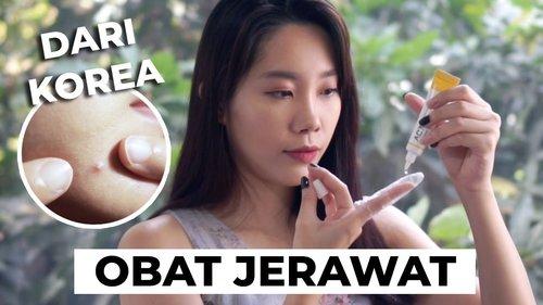 "<div class=""photoCaption"">Menghilangkan Jerawat Pakai Obat Tisha AC7 Spot Serum dari Korea</div>"