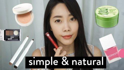 "<div class=""photoCaption"">Makeup Buat Pemula: Simple & Natural Ala Korea</div>"