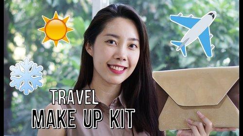 "<div class=""photoCaption"">Makeup Travel Bag (Isi Tas Makeup Buat Traveling) </div>"