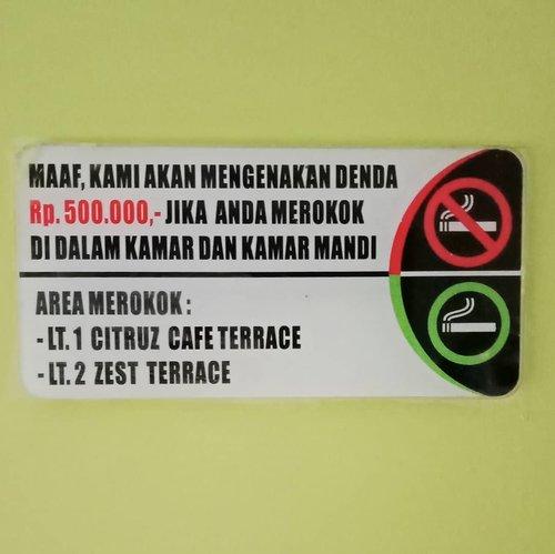 "<div class=""photoCaption"">Akutu hepi pake banget karena kalau kena asap rokok langsung bengek!  Bersyukur yang tersayang di rumah enggak ada yang merokok 😊<br /> .<br /> ..<br /> ...<br />  <a class=""pink-url"" target=""_blank"" href=""http://m.clozette.co.id/search/query?term=ClozetteID&siteseach=Submit"">#ClozetteID</a><br />  <a class=""pink-url"" target=""_blank"" href=""http://m.clozette.co.id/search/query?term=wheninBandung&siteseach=Submit"">#wheninBandung</a><br />  <a class=""pink-url"" target=""_blank"" href=""http://m.clozette.co.id/search/query?term=liburanlokal&siteseach=Submit"">#liburanlokal</a><br />  <a class=""pink-url"" target=""_blank"" href=""http://m.clozette.co.id/search/query?term=neiiBDGtrip&siteseach=Submit"">#neiiBDGtrip</a><br />  <a class=""pink-url"" target=""_blank"" href=""http://m.clozette.co.id/search/query?term=wanderlust&siteseach=Submit"">#wanderlust</a><br />  <a class=""pink-url"" target=""_blank"" href=""http://m.clozette.co.id/search/query?term=TravelTerus&siteseach=Submit"">#TravelTerus</a><br />  <a class=""pink-url"" target=""_blank"" href=""http://m.clozette.co.id/search/query?term=MulaiAjaDulu&siteseach=Submit"">#MulaiAjaDulu</a><br />  <a class=""pink-url"" target=""_blank"" href=""http://m.clozette.co.id/search/query?term=instatravel&siteseach=Submit"">#instatravel</a><br />  <a class=""pink-url"" target=""_blank"" href=""http://m.clozette.co.id/search/query?term=zesthotelbandung&siteseach=Submit"">#zesthotelbandung</a> <br />  <a class=""pink-url"" target=""_blank"" href=""http://m.clozette.co.id/search/query?term=JejakKakiKartini&siteseach=Submit"">#JejakKakiKartini</a><br />  <a class=""pink-url"" target=""_blank"" href=""http://m.clozette.co.id/search/query?term=howfarfromhome&siteseach=Submit"">#howfarfromhome</a></div>"