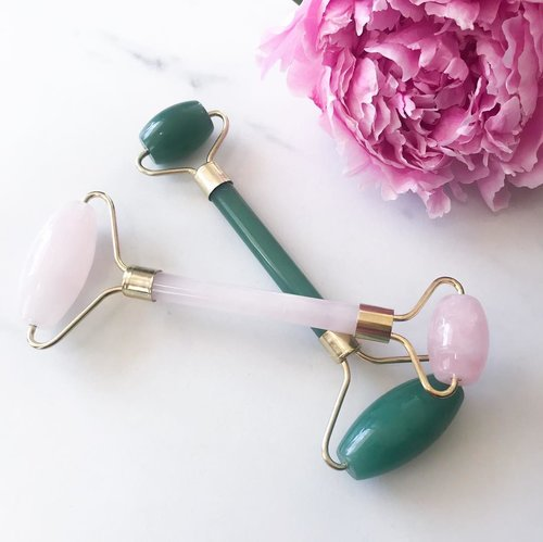 """<div class=""""photoCaption"""">Jade or Rose Quartz? Have you guys used these face rollers before? It helps to depuff your face & under eyes, loosen tight jaws & improve blood circulation! Perfect for a little spa time at home 😉<br /> <br /> Want one? Head over to @shopkitsu online store (<a href=""""https://www.kitsu.ca"""" class=""""pink-url""""  target=""""_blank""""  rel=""""nofollow"""" title=""""https://www.kitsu.ca"""">www.kitsu.ca</a>) & get one for yourself!  <a class=""""pink-url"""" target=""""_blank"""" href=""""http://m.id.clozette.co/search/query?term=shopkitsu&siteseach=Submit"""">#shopkitsu</a> •<br /> •<br /> •<br />  <a class=""""pink-url"""" target=""""_blank"""" href=""""http://m.id.clozette.co/search/query?term=jaderoller&siteseach=Submit"""">#jaderoller</a>  <a class=""""pink-url"""" target=""""_blank"""" href=""""http://m.id.clozette.co/search/query?term=jaderollercanada&siteseach=Submit"""">#jaderollercanada</a>  <a class=""""pink-url"""" target=""""_blank"""" href=""""http://m.id.clozette.co/search/query?term=jaderollers&siteseach=Submit"""">#jaderollers</a>  <a class=""""pink-url"""" target=""""_blank"""" href=""""http://m.id.clozette.co/search/query?term=facialrollers&siteseach=Submit"""">#facialrollers</a>  <a class=""""pink-url"""" target=""""_blank"""" href=""""http://m.id.clozette.co/search/query?term=guasha&siteseach=Submit"""">#guasha</a>  <a class=""""pink-url"""" target=""""_blank"""" href=""""http://m.id.clozette.co/search/query?term=rosequartz&siteseach=Submit"""">#rosequartz</a>  <a class=""""pink-url"""" target=""""_blank"""" href=""""http://m.id.clozette.co/search/query?term=rosequartzroller&siteseach=Submit"""">#rosequartzroller</a>  <a class=""""pink-url"""" target=""""_blank"""" href=""""http://m.id.clozette.co/search/query?term=bbloggers&siteseach=Submit"""">#bbloggers</a>  <a class=""""pink-url"""" target=""""_blank"""" href=""""http://m.id.clozette.co/search/query?term=bbloggersca&siteseach=Submit"""">#bbloggersca</a>  <a class=""""pink-url"""" target=""""_blank"""" href=""""http://m.id.clozette.co/search/query?term=clozette&siteseach=Submit"""">#clozette</a>  <a class=""""pink-url"""" target=""""_blank"""" href=""""http://m.id.clozette.co/search/query?term=clozett"""