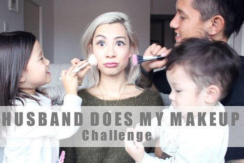 "<div class=""photoCaption"">HUSBAND DOES MY MAKEUP + KIDS ARE HELPING  <a class=""pink-url"" target=""_blank"" href=""http://m.id.clozette.co/search/query?term=teamBachdim&siteseach=Submit"">#teamBachdim</a> - YouTube</div>"