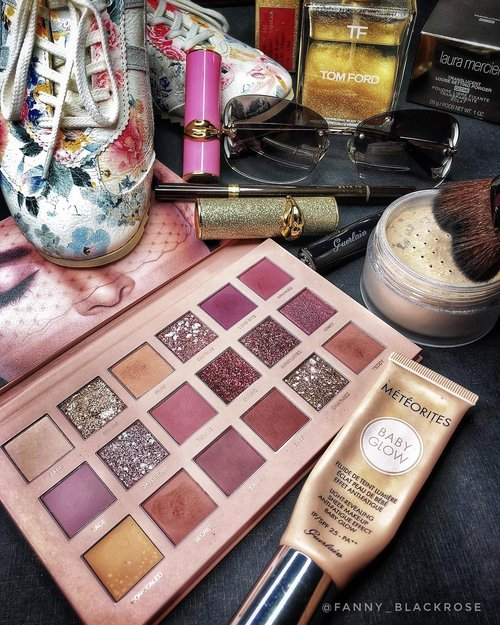 "<div class=""photoCaption"">Morning chaos on my vanity table 💕💖<br /> Running some errands today ... got no chance to post any makeuplook using that beautiful  <a class=""pink-url"" target=""_blank"" href=""http://m.clozette.co.id/search/query?term=hudabeautynudepalette&siteseach=Submit"">#hudabeautynudepalette</a> 😜<br /> •<br /> •<br /> •<br />  <a class=""pink-url"" target=""_blank"" href=""http://m.clozette.co.id/search/query?term=onitsukatiger&siteseach=Submit"">#onitsukatiger</a>  <a class=""pink-url"" target=""_blank"" href=""http://m.clozette.co.id/search/query?term=louisvuitton&siteseach=Submit"">#louisvuitton</a>  <a class=""pink-url"" target=""_blank"" href=""http://m.clozette.co.id/search/query?term=workingmomlife&siteseach=Submit"">#workingmomlife</a>  <a class=""pink-url"" target=""_blank"" href=""http://m.clozette.co.id/search/query?term=workingmom&siteseach=Submit"">#workingmom</a>  <a class=""pink-url"" target=""_blank"" href=""http://m.clozette.co.id/search/query?term=workingmomstyle&siteseach=Submit"">#workingmomstyle</a>  <a class=""pink-url"" target=""_blank"" href=""http://m.clozette.co.id/search/query?term=beautyblogger&siteseach=Submit"">#beautyblogger</a>  <a class=""pink-url"" target=""_blank"" href=""http://m.clozette.co.id/search/query?term=beautyinfluencer&siteseach=Submit"">#beautyinfluencer</a>  <a class=""pink-url"" target=""_blank"" href=""http://m.clozette.co.id/search/query?term=clozetteid&siteseach=Submit"">#clozetteid</a>  <a class=""pink-url"" target=""_blank"" href=""http://m.clozette.co.id/search/query?term=clozette&siteseach=Submit"">#clozette</a>  <a class=""pink-url"" target=""_blank"" href=""http://m.clozette.co.id/search/query?term=beautygram&siteseach=Submit"">#beautygram</a>  <a class=""pink-url"" target=""_blank"" href=""http://m.clozette.co.id/search/query?term=lovemakeup&siteseach=Submit"">#lovemakeup</a>  <a class=""pink-url"" target=""_blank"" href=""http://m.clozette.co.id/search/query?term=makeupaddict&siteseach=Submit"">#makeupaddict</a>  <a class=""pink-url"" target=""_blank"" href=""http://m.clozette.co.id/search/query?term=makeuplover&siteseach=Submit"">#makeuplover</a>  <a class=""pink-url"" target=""_blank"" href=""http://m.clozette.co.id/search/query?term=tomford&siteseach=Submit"">#tomford</a>  <a class=""pink-url"" target=""_blank"" href=""http://m.clozette.co.id/search/query?term=tomfordaddict&siteseach=Submit"">#tomfordaddict</a>  <a class=""pink-url"" target=""_blank"" href=""http://m.clozette.co.id/search/query?term=tomfordlover&siteseach=Submit"">#tomfordlover</a>  <a class=""pink-url"" target=""_blank"" href=""http://m.clozette.co.id/search/query?term=lauramerciermy&siteseach=Submit"">#lauramerciermy</a>  <a class=""pink-url"" target=""_blank"" href=""http://m.clozette.co.id/search/query?term=lauramercier&siteseach=Submit"">#lauramercier</a>  <a class=""pink-url"" target=""_blank"" href=""http://m.clozette.co.id/search/query?term=patmcgrathlabs&siteseach=Submit"">#patmcgrathlabs</a>  <a class=""pink-url"" target=""_blank"" href=""http://m.clozette.co.id/search/query?term=guerlain&siteseach=Submit"">#guerlain</a>  <a class=""pink-url"" target=""_blank"" href=""http://m.clozette.co.id/search/query?term=patmcgrath&siteseach=Submit"">#patmcgrath</a>  <a class=""pink-url"" target=""_blank"" href=""http://m.clozette.co.id/search/query?term=lipstick&siteseach=Submit"">#lipstick</a>  <a class=""pink-url"" target=""_blank"" href=""http://m.clozette.co.id/search/query?term=wakeupandmakeup&siteseach=Submit"">#wakeupandmakeup</a></div>"