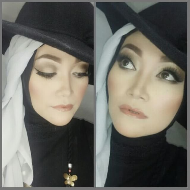 My Makeup For Vini Today Face Wardah Serum Coverderm