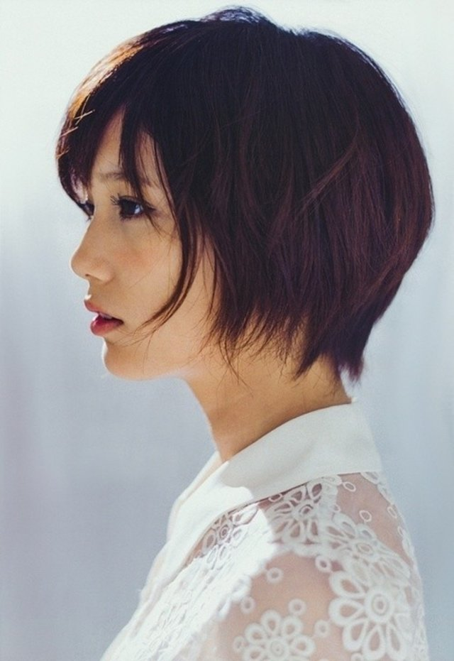 Chic Short Haircut For Summer Japanese Short Hairstyles