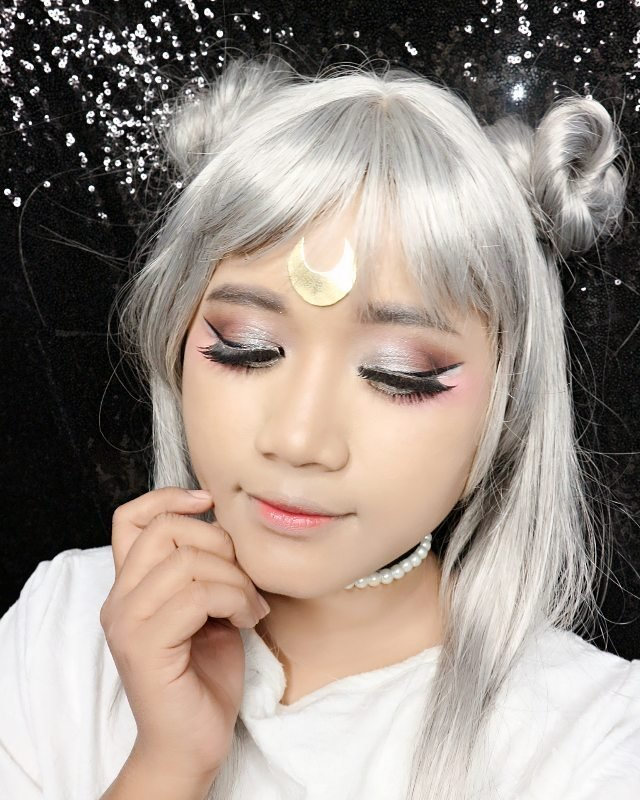 Another Detail Of My Makeup Looks Inspired By Neo Queen Serenity I