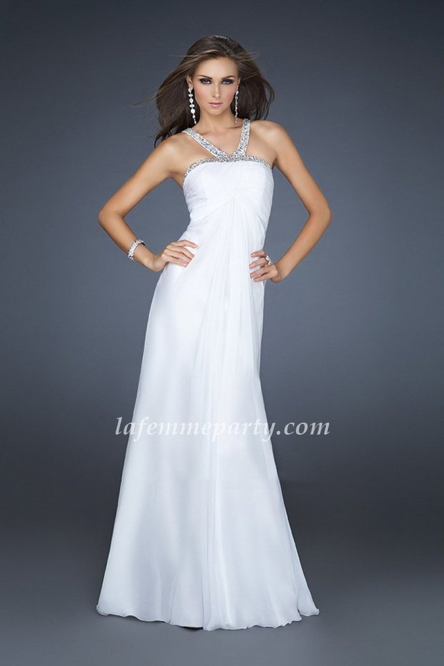 This Amazing Homecoming Dress Features Beautiful Embelished Straps